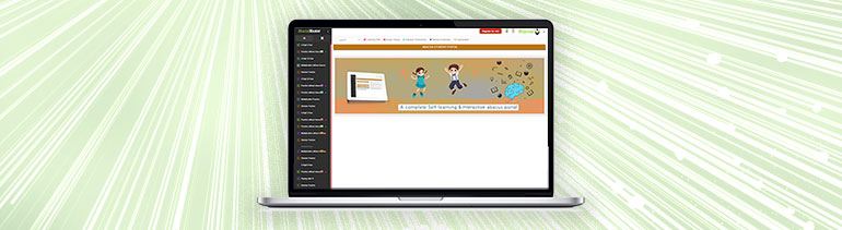 structured and interactive learning portal for abacus training with enhanced features